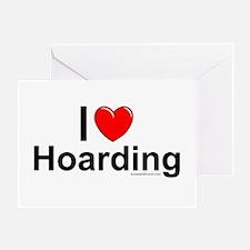Hoarding Greeting Card