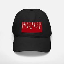 Skull Dangles Christmas Red Baseball Hat