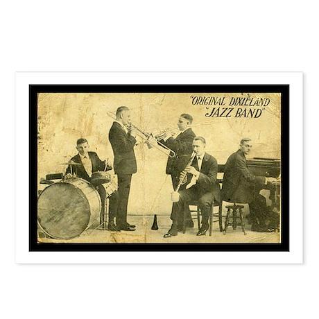 Original Dixieland Jazz Band Postcards (8)