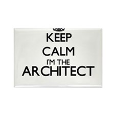 Keep calm I'm the Architect Magnets