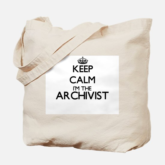 Keep calm I'm the Archivist Tote Bag