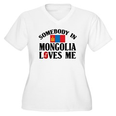 Somebody In Mongolia T-Shirt