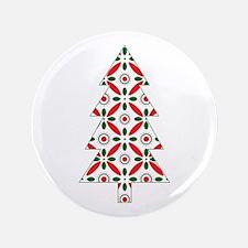 "Christmas Tree 3.5"" Button"