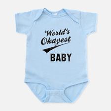 World's Okayest Baby Infant Bodysuit