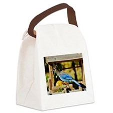 """STELLER'S JAY"" Canvas Lunch Bag"