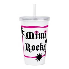 Mimi Rocks Acrylic Double-wall Tumbler
