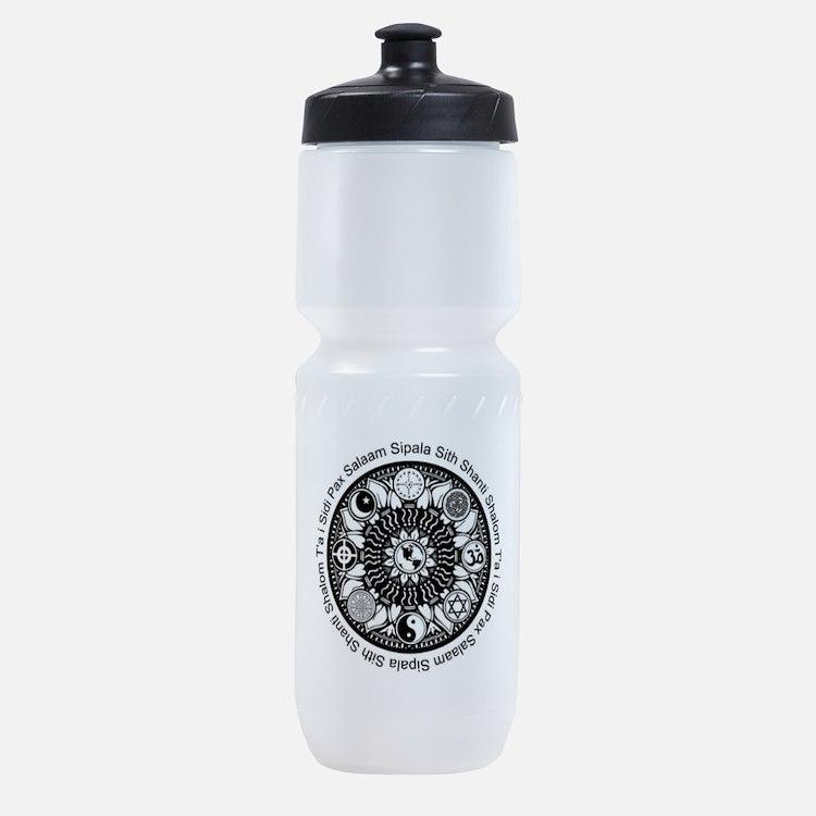 iPeace Mandala Sports Bottle