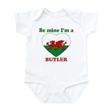 Butler, Valentine's Day Infant Bodysuit