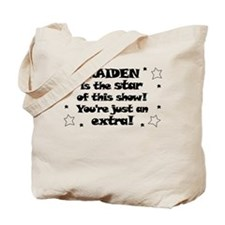 Kaiden is the Star Tote Bag