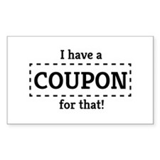 I have a coupon for that! Decal