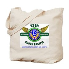 13TH ARMY AIR FORCE* ARMY AIR CORPS* WORL Tote Bag
