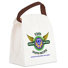 13TH ARMY AIR FORCE* ARMY AIR COR Canvas Lunch Bag