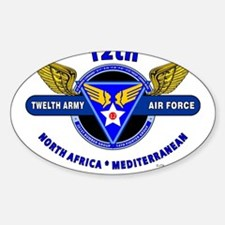 12TH ARMY AIR FORCE *ARMY AIR CORPS WORLD Decal