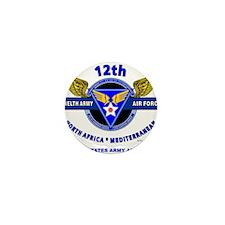 12TH ARMY AIR FORCE *ARMY AIR CORPS WO Mini Button