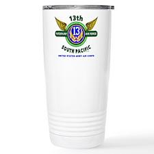 13TH ARMY AIR FORCE* AR Travel Mug