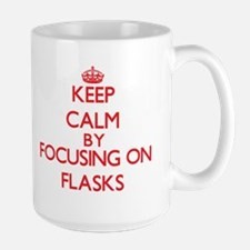 Keep Calm by focusing on Flasks Mugs