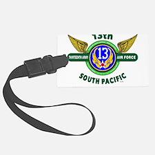 13TH ARMY AIR FORCE* ARMY AIR CO Luggage Tag