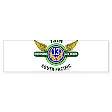 13TH ARMY AIR FORCE* ARMY AIR CORPS Bumper Bumper Sticker