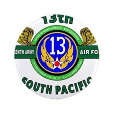 "13TH ARMY AIR FORCE* ARMY A 3.5"" Button (100 pack)"