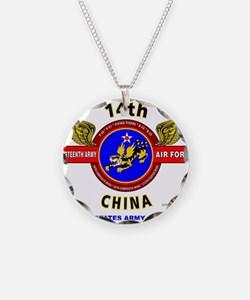 14TH ARMY AIR FORCE, ARMY A Necklace