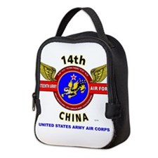 14TH ARMY AIR FORCE, ARMY AIR Neoprene Lunch Bag