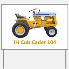 Unique International tractor Yard Sign