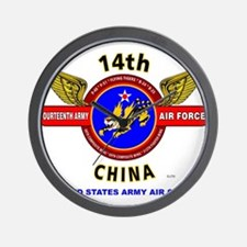 14TH ARMY AIR FORCE, ARMY AIR CORPS* W Wall Clock