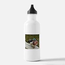 """GORGEOUS WOOD DUCK"" Water Bottle"