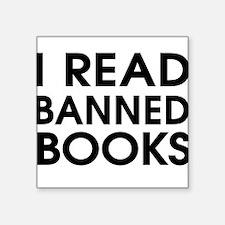 I read banned books Sticker