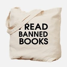 I read banned books Tote Bag
