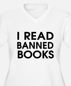 I read banned books Plus Size T-Shirt