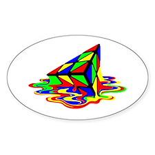 Pyraminx cude painting01B Decal
