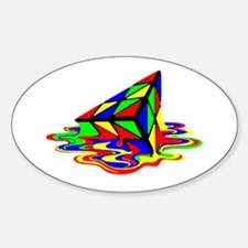 Pyraminx cude painting01B Decal