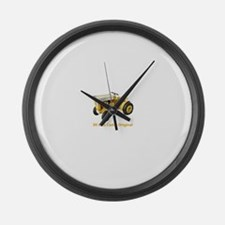 Unique Tractor Large Wall Clock