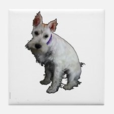 Miniature Schnauzer Tile Coaster