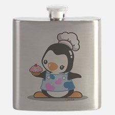 Cooking Penguin (2) Flask