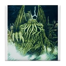 Cthulhu & R'lyeh Tile Coaster