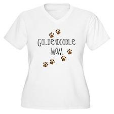 Goldendoodle Mom Plus Size T-Shirt