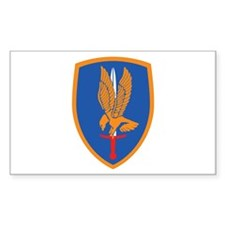 1st Aviation Brigade Rectangle Decal