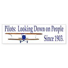 Unique Pilot Bumper Stickers