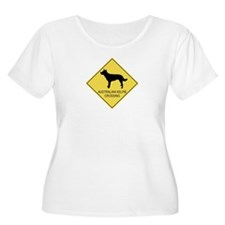 Australian Kelpie crossing T-Shirt