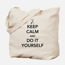Keep calm and do it yourself Tote Bag