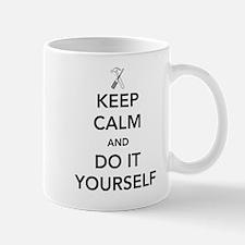 Keep calm and do it yourself Mugs