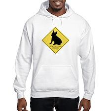 French Bulldog crossing Hoodie