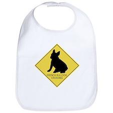 French Bulldog crossing Bib