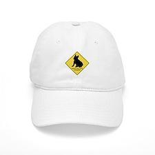 French Bulldog crossing Baseball Cap
