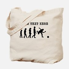 Custom Bowling Evolution Tote Bag