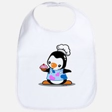 Cooking Penguin (2) Bib