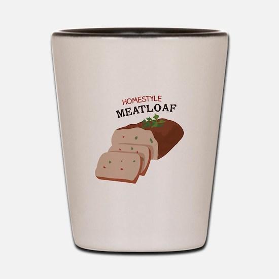 Homestyle Meatloaf Shot Glass
