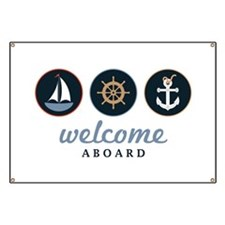 Welcome Aboard Banner